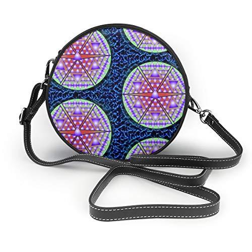 Ameok-Design Bolsa de hombro con forma de bola, de color azul eléctrico,...