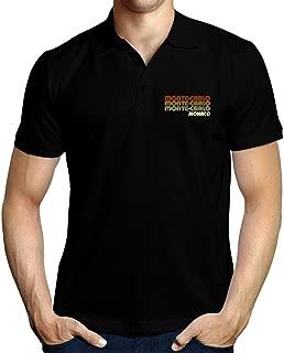 Retro Color Monte Carlo Polo Shirt