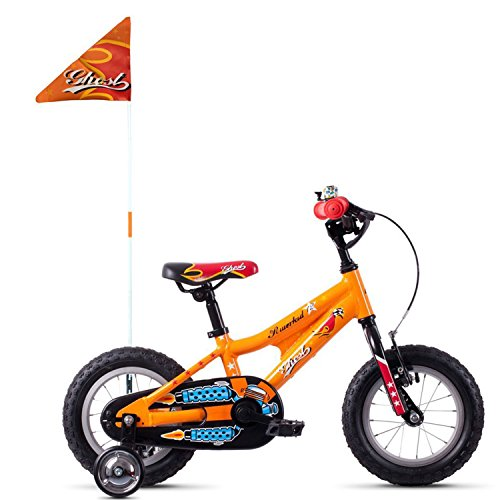 Ghost Powerkid AL 12R Kinder Fahrrad 2018 (One Size, Juice Orange/Riot Red/Riot Blue)