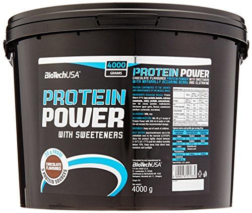 Biotech USA Protein power Schokolade, 1er Pack (1 x 4 kg)