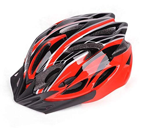 SFBBBO Casque Velo Adulte Casque de Cyclisme Couverture ultralégère Casque de vélo VTT Route Montagne pour Homme Respirant Ultra-léger Sport E