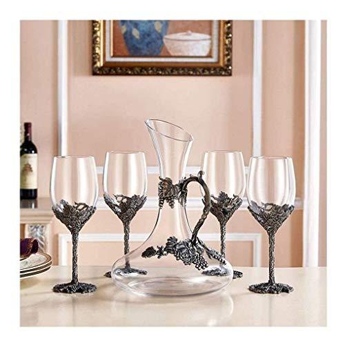 Productos para el hogar Estante para botellas Estante para vino Soporte para copas de vino 1500ML Decantador de aireador de vino Vaso de respirador de vertedor rápido Respirador de cristal sin plom