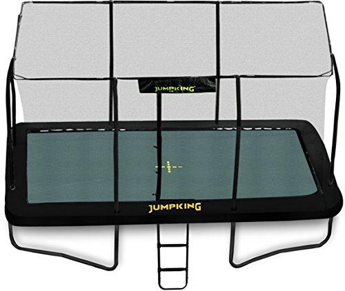 Jumpking - Cama elástica rectangular con cierre (JKDR812B18)