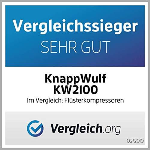 KnappWulf KW2100 Kompressor / 100 Liter / 8 Bar / Ölfrei / Silent - 2