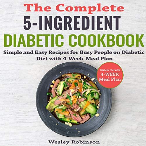The Complete 5-Ingredient Diabetic Cookbook cover art