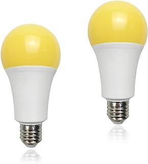 Yellow Led Bug Light 15W A21 1500LM(100 watt Equivalent) E26 Medium Base Outdoor Patio Porch Light Mosquito Repellent Ligh...
