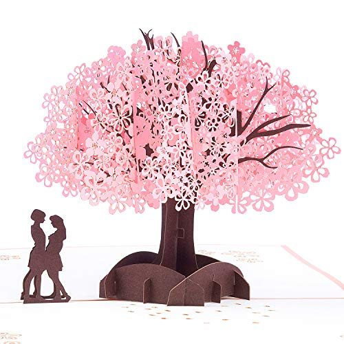 LGBT 3D Pop Up Greeting Card Lesbian Gifts - Engagement, Wedding, Birthday, Pride Day, Valentine's Day, Wedding Card for Couple