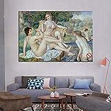 "Pierre Auguste Renoir Leinwandbilder ""The Large"