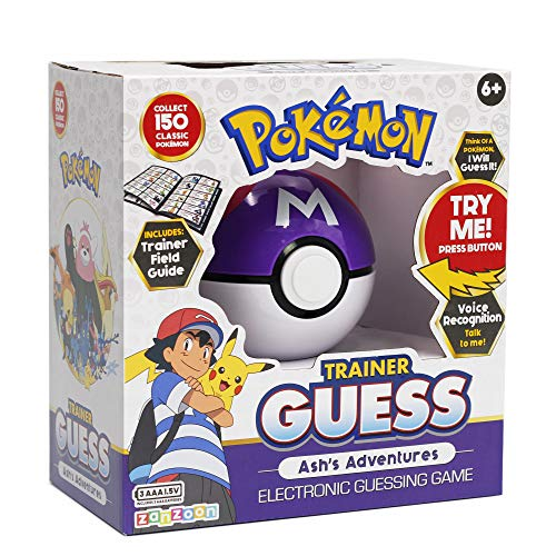 Pokémon Trainer Electronic Guessing Game
