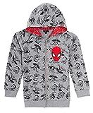 MARVEL - Sudadera con capucha para niños con capucha, diseño de Spiderman