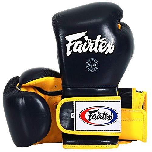 Fairtex Boxhandschuhe, BGV9, Schwarz-Gelb, 10 Oz