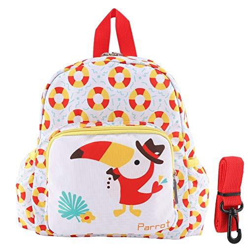 YIFengFurun Bolso lindo de la escuela de los bocadillos de la mochila de la impresión de la moda del bebé