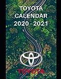 "Toyota Calendar 2020-2021: Weekly Planner Calendar 2020 - 2021 Logbook Diary Gift Todo Memory Book Budget Planner Gift | Cars, Men, Woman, Girls & Boys, Autos | 8.5"" x 11"" (Cars Calendars 2020-2021)"