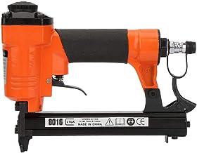 Baverta clavadoras neumáticas-grapadora neumática tipo U neumática pistola de clavos clavadora recta clavadora de aire grapadora pistola 21GA 0,9x0,7mm