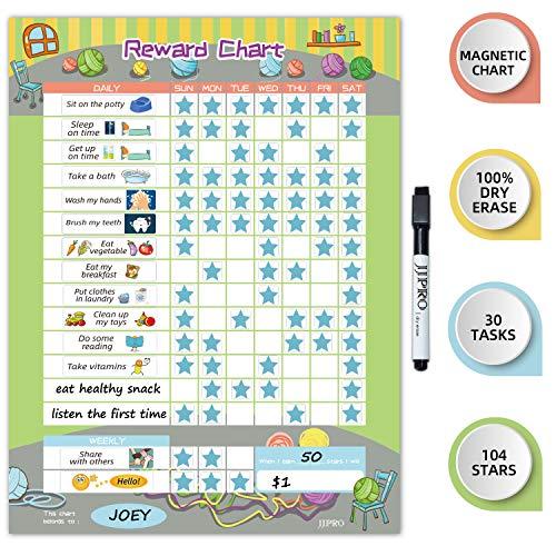 Magnetic Behavior Chart for Kids at Home