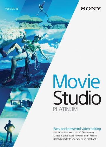 Sony Movie Studio 13 Platinum- 30 Day Free Trial [Download]
