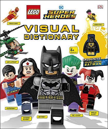 Lego DC Super Heroes Visual Dictionary [With Toy]