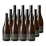 Vin de Savoie Chignin Bergeron Au Pied des Tours Blanc 2018 - Domaine Jean-François Quénard - Vin AOC Blanc de Savoie - Bugey - Cépage Roussanne - Lot de 12x75cl