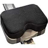 POHOVE Rowing Machine Seat Cushion,Row Pad Seat Cushion with Straps,Water Rower Machine Seat Pad,Memory Foam Seat Cushion Fit Perfectly On Concept 2 Rowing Machine