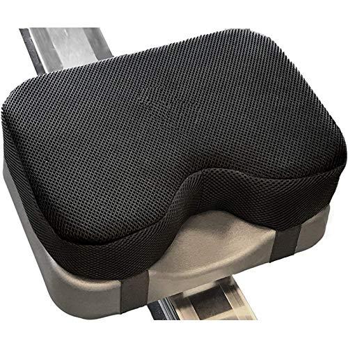 POHOVE - Cuscino per sedia a remo d acqua, in memory foam, con cinghie e fondo antiscivolo per Concept 2