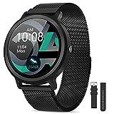 AIMIUVEI Smartwatch Uomo Donna 1.28 Pollici, Orologio Fitness IP68 con 24 Modalità Sportive Smart Watch...
