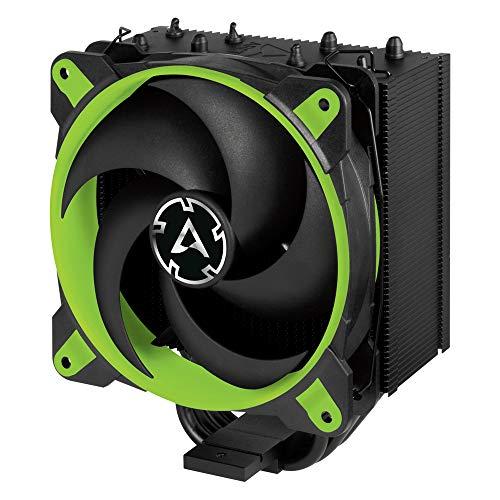 ARCTIC Freezer 34 eSports - Tower CPU Luftkühler mit BioniX P-Serie Gehäuselüfter, 120 mm PWM Prozessorlüfter für Intel und AMD Sockel - Grün