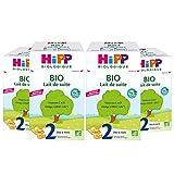 Hipp Biologique Lait 2 de Suite Bio 700 g - Lot de 4