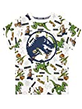 LEGO Camiseta de Manga Corta para niños Jurassic World Blanco 8-9 Años