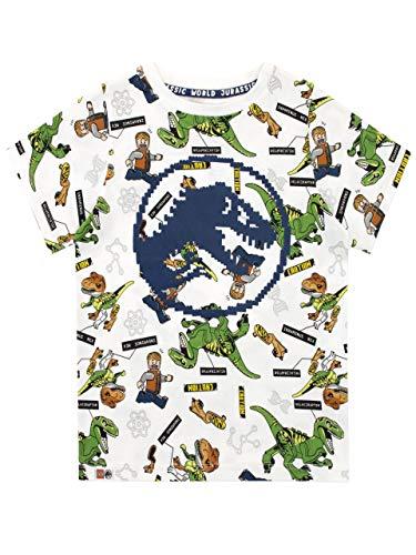 LEGO Jungen Jurassic World T-Shirt Weiß 122