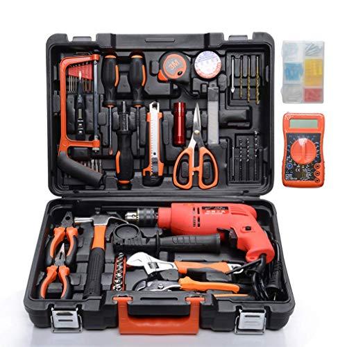 SEESEE.U Werkzeugsatz für Haus-, Hi-Spec-Heim- und Garagenwerkzeugsatz mit Bohr- und Schlagschrauber und Präzisionsschraubendreher, Makita-Werkzeugsatz