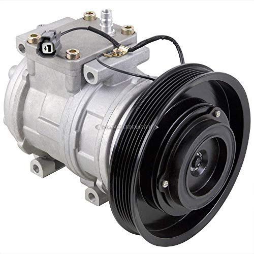 AC Compressor & A/C Clutch For Honda Accord 2.2L 4-Cyl & Acura CL 2.2CL - BuyAutoParts 60-00795NA NEW