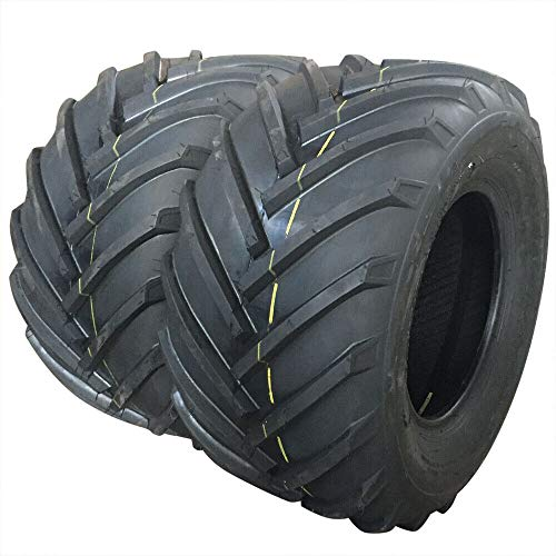 SUNROAD 26x12.00-12 Traction Lug Lawn Garden Tractor Agricultural Tire Tires 26x12.00-12 4 Ply Pack of 2