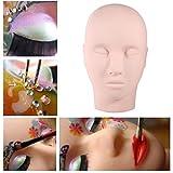 Maniquí de entrenamiento alargador para formación de maquillaje pestañas maquillaje acupuntura masaje práctica