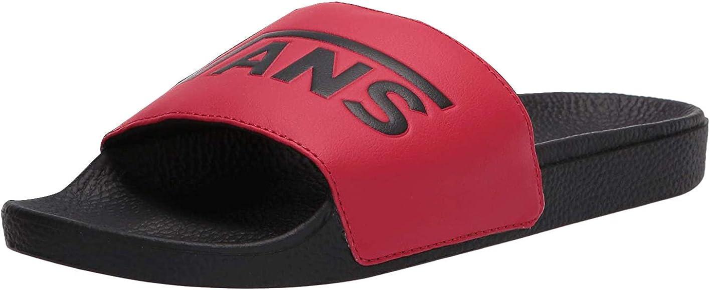 Amazon.com   Vans Slide-On Red/Black Mens 11, Womens 12.5   Sandals