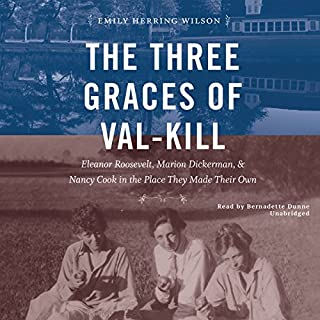 The Three Graces of Val-Kill audiobook cover art