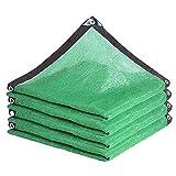Telas para toldos WXYZ Tasa de sombreado de sombreado Verde 90-95%, a Prueba de Viento, a Prueba de Polvo y Vela de Sombra de enfriamiento, fácil de Instalar (Size : 7x8m)