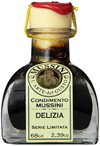 Mussini 30 Year Balsamic Vinegar, Delizia, 2.39 Ounce Glass Bottle