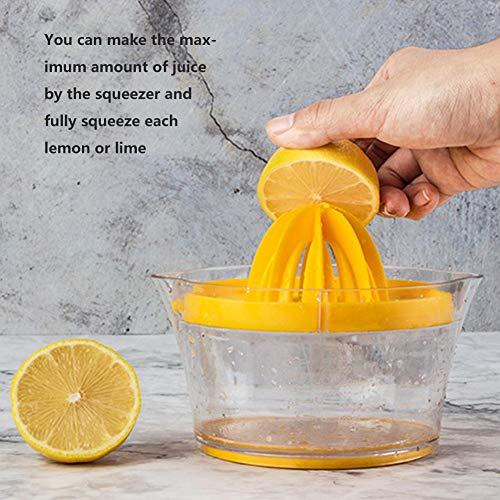 Manuelle Saftpresse , Manuelle Zitruspresse Deckelrotation Pressreibahle für Zitrone