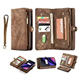 Simicoo OnePlus 6T Leather Wallet...