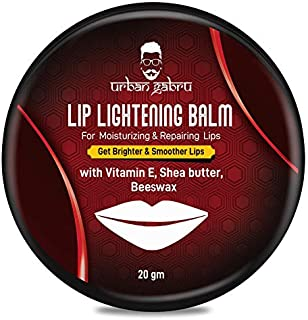 Urbangabru Lip Balm/Scrub For Lightening & Brightening Dark Lips with shea butter, beeswax & vitamin-E(both Men & Women)- 20g