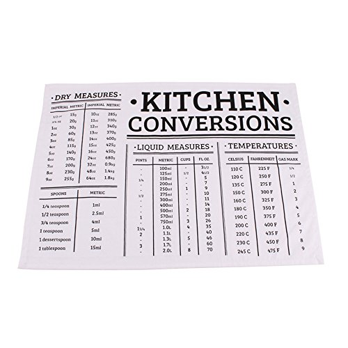 CGB Giftware Loft Kitchen Conversations Tea Towel (One Size) (Black/White)