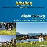 Allgäu-Radweg: Von Isny nach Füssen. Entlang der Arge, Rottach, Wertach und dem Lech.1:50.000, 184 km, GPS-Tracks Download, Live-Update (bikeline Radtourenbuch kompakt)