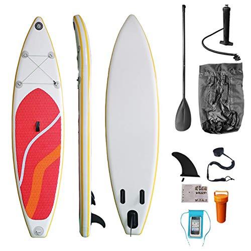Juego Completo De Tabla De Paddle Surf | Allrounder Trip Sup Incluye Aletas De Paleta Bomba De Aire Kit De Reparación De Correa Cubierta Impermeable para Teléfono Móvil | 305Cm Todoterreno (10 ')