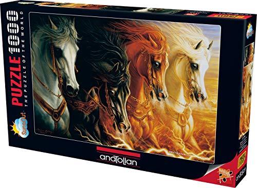 Anatolian/perre Group - Ana.3116 - Puzzle Classique - Four Horses of Apocalypse - 1000 Pièces