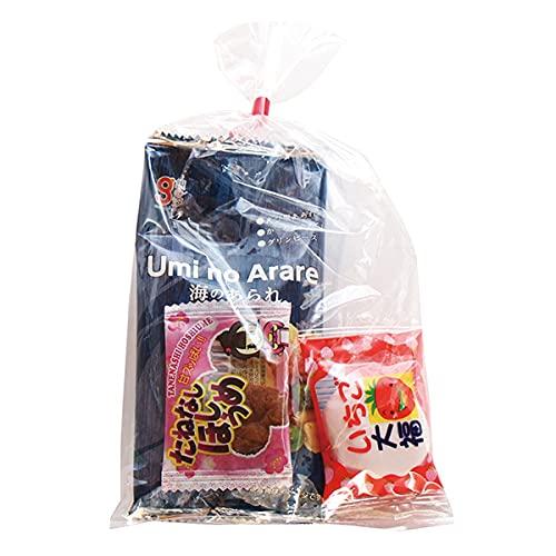 110円 ばらまきおつまみ お菓子袋詰め 詰め合わせ(Bセット) 駄菓子 おかしのマーチ (omtma7554)