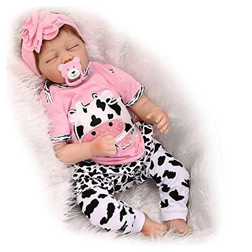 HOOMAI 22inch 55CM realista Dormir reborn muñeca bebé niñas vinilo suave silicona...