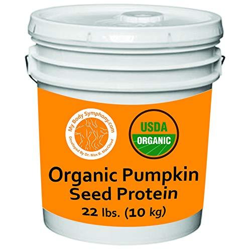 Organic Pumpkin Seed Protein Powder - Bulk 22lb Bucket
