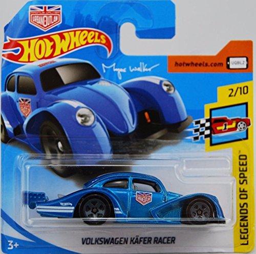 Hot Wheels 2018 Volkswagen Kafer Racer Blue 2/10 Legends of Speed Magnus Walker 2018 2/365 (Short Card)