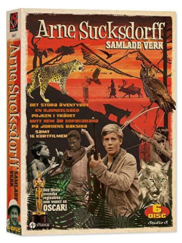 Arne Sucksdorff Complete Works - 6-DVD Box Set ( Det stora äventyret / En djungelsaga / Pojken i trädet / Mitt hem är Copacabana / På jordens baksida / Människo [ Schwedische Import ]