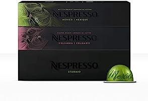 Nespresso, Café Best Seller, Paquete de 30 cápsulas de Sistema Vertuo (Incluye 10 cápsulas de cada variedad) Tamaño de...